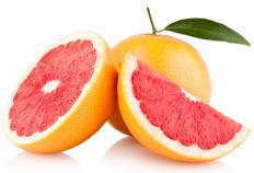 Grapefruit juice and zest are needed to make any kind of grapefruit cake.