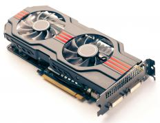A graphics chipset powers both internal and external graphics cards.