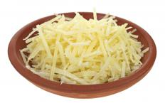 Grated Parmesan can be used in a cheese bun.