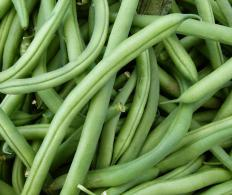 Green beans are a common low-calorie side dish.