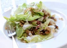 Butter lettuce adds a sweet flavor to salads.