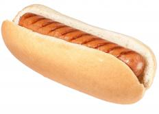 Cheez Whiz® may be served as a condiment on hot dogs.