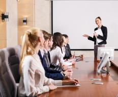 A training administrator often creates training schedules and determines the appropriate teaching methods.