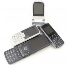 Many local organizations or charities collect old or unwanted cell phones.