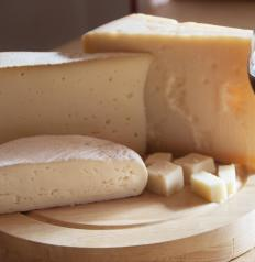 Cheese is a source of vitamin D.