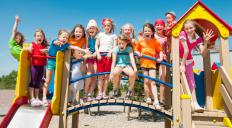 A trip to a playground might be part of an edutainment program.