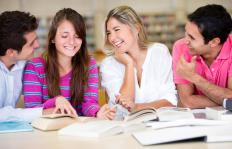 Forming study groups may help a person achieve better grades.