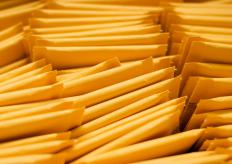 Business mail might be sent in bubble envelopes to ensure they reach their destination undamaged.