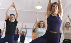 Yoga and daily exercise may help to control fluctuating cortisol levels.