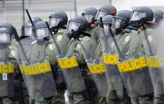 A police code can be used to report a riot.