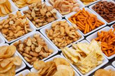 Processed foods laden with salt are not permitted on a heart surgery diet.