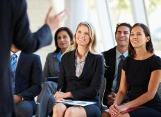A human resources professional may be involved in the training and coaching of new employees.