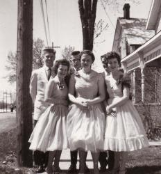 Circle skirts reached the height of their popularity in the 1950s.