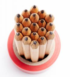 Indelible pencils contain lead that cannot be erased.