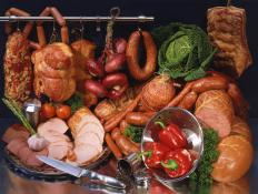 The cold smoking method is often used on deli meats and can cause the meat to taste salty.