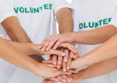 Non-profit organizations often depend on the support of volunteers who help with executing fund raising activities.