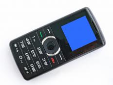 A cell phone with prepaid airtime.