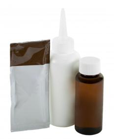 Oxidation dye is commonly used in home coloring kits.