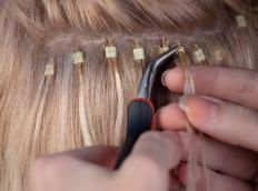 People use hair extensions to change hairstyles without cutting natural hair.