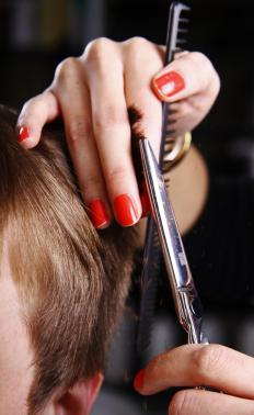 A career in the hairdressing industry requires a working knowledge of haircutting technique.