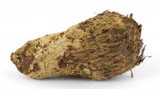 Malanga is hairy tuber closely related to taro root.