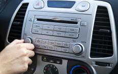 A CD player included is essential for a car having all the bells and whistles.
