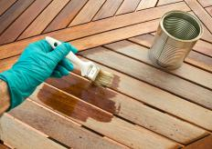 Varnish can help keep wood seats looking new for years after being built.