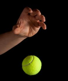 Vigorous sports such as tennis are more likely to cause an overstretched tendon or muscle.