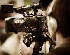 Audio visual training covers the skills needed to become a camera operator.