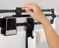 Weight gain is a side effect of chronically high cortisol or prescribed hydrocortisone.