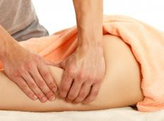 Massage is often used to treat lymphedema.