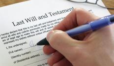 In some cases, a joint living trust serves as an alternative to a last will and testament.