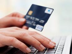 Credit card users can check their monthly statement online to monitor transactions.