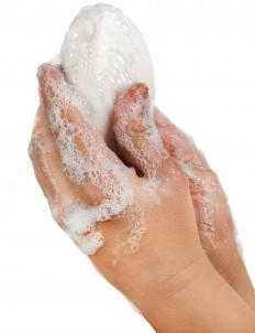 Washing hands may help prevent the spread of MRSA and VRE.