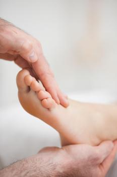 Diabetics can benefit from foot massages.