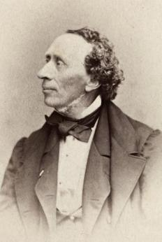 The Danish author Hans Christian Andersen wrote several famous literary fairy tales.