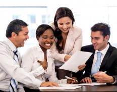 It is common for human resource professionals to engage employees in group exercises that emphasize the importance of teamwork and group dynamics.
