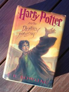 A horcrux is first mentioned in the sixth Harry Potter novel.