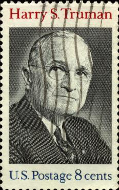 Harry Truman, who helped develop the Presidential Medal of Freedom.