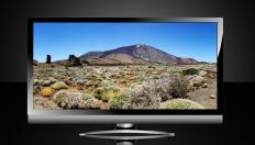 Widescreen televisions have an aspect ratio of 16x9.