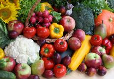 Consumption of vegetables and other high-fiber foods can reduce a person's risk of developing colon polyps.
