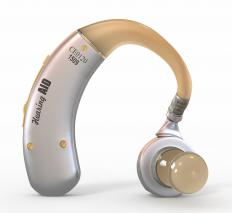 Hearing aids may be used to improve hearing.