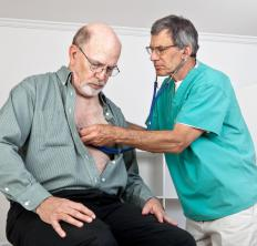 During a physical exam, a doctor may find signs of arteriosclerosis.