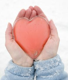 A hand warmer can provide hours of heat during cold weather.
