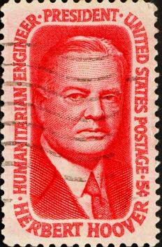 Former President Hoover worked with then-President Truman to create the Hoover Commission.