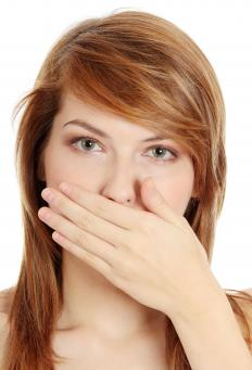 Bad breath might be a sign of infection in the sinus cavities.