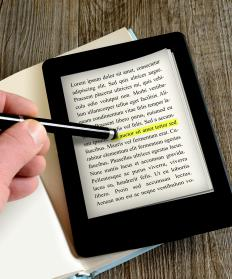 An ebook reader is a dedicated device for reading ebooks.