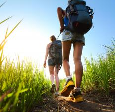 Hiking vacations may appeal to people who want to explore nature while upping their fitness quotient.