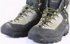 Gore-Tex® is a popular material in waterproof hiking boots.
