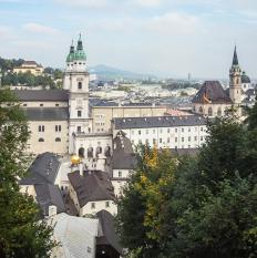 Mozart's hometown was Salzburg, the Austrian city in which he was born in 1756.